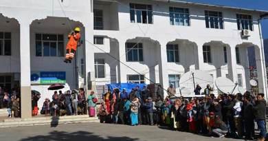 Arunachal: NDRF team conducts Mock drill in Tawang