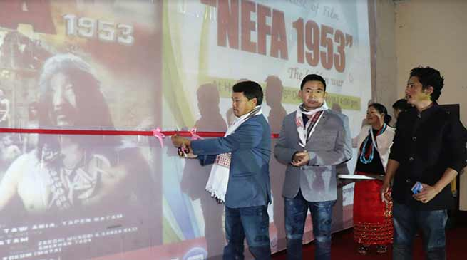 "Arunachal:  ""NEFA 1953, The hidden war "" film's trailer released"