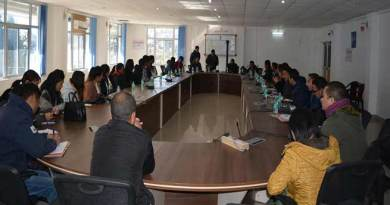Arunachal: Training of Gram preraks under Arunachal Rising campaign held at Tawang