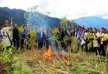 Photo of Arunachal Villagers declares Jaging Tapo Village as Dry Village