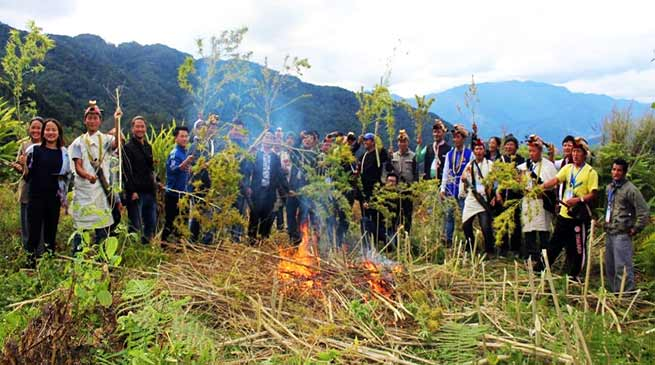 Arunachal Villagers declares Jaging Tapo Village as Dry Village