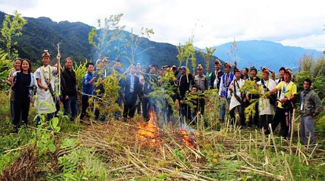 Arunachal Villagers declares Jaging Tapo Village as Dry Village