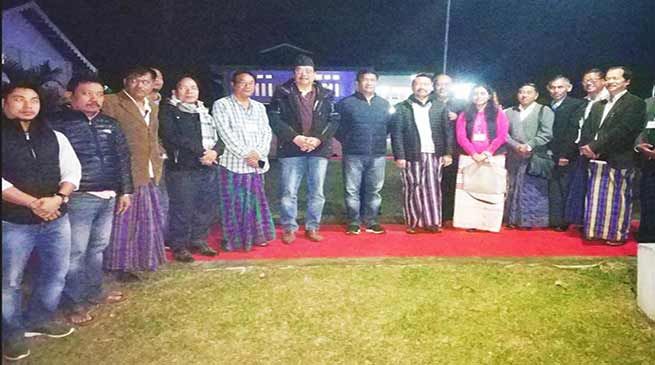 Arunachal CM, Dy CM discussed PRC issue with CBOs