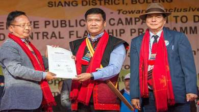 Photo of Arunachal: Khandu declares Siang district functioning