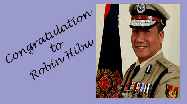 Robin Hibu promoted as ADGP, took charge of special commissioner of police in Delhi