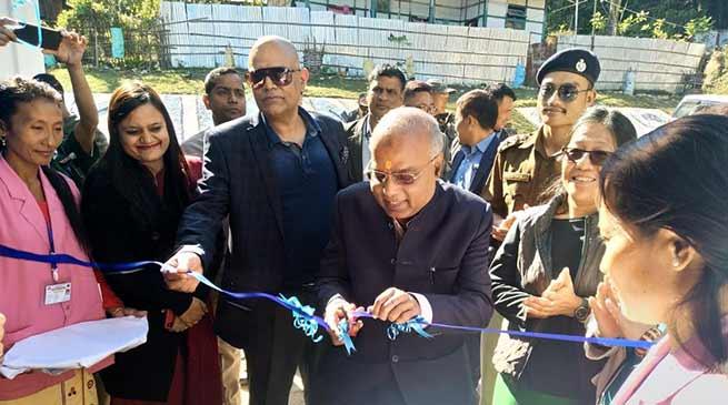 Arunachal: CS inaugurates PLUS at Kimin CHC