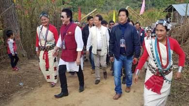 Photo of Arunachal: Likha Saaya inaugurates PMGSY road from Tanyo to lej puchu in Yazali