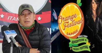 Arunachal: 5th edition of Orange festival of Adventure and Music to begin from December 15