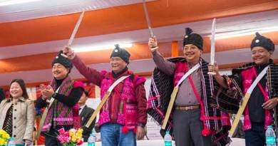 Khandu reaches Anjaw district on his second leg of Arunachal Rising Campaign