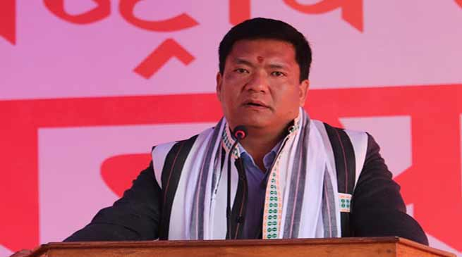 Arunachal: Every one should support the construction of Hollongi Airport- Pema Khandu