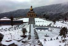 Photo of Sikkim: heavy snowfall in Nathula, army rescued 2500 tourists