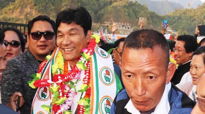 Arunachal: Congress will form govt in 2019- Takam Pario