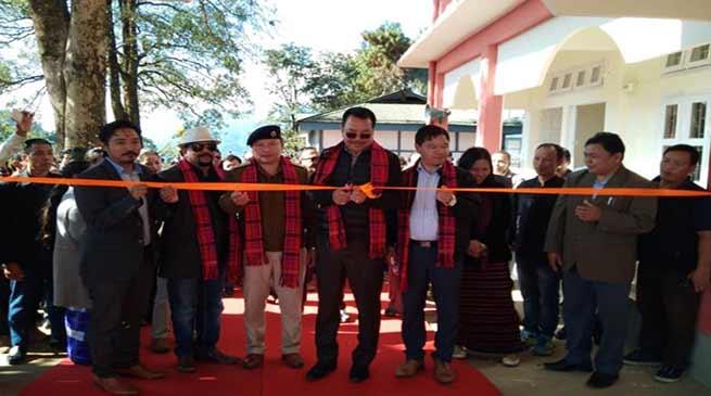 Arunachal : Mein inaugurates four developmental projects in Manmao