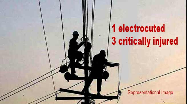 Arunachal: 1 electrocuted, 3 critically injured while erecting a Mobile tower