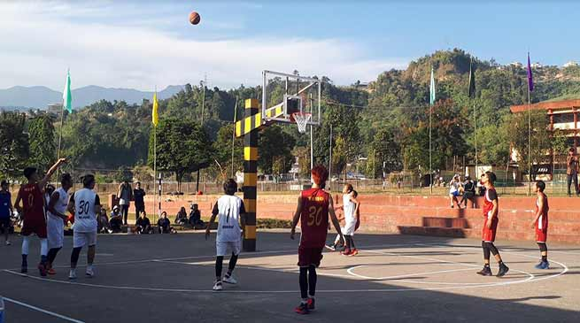 Arunachal: 1st state level basketball tournament begins