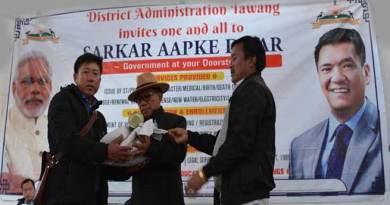 Arunachal: Sarkar Aapke Dwar reaches Last Indian Village in Tawang dist