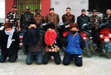 Itanagar: 10 stolen two-wheelers recovered, 4 arrested by Capital Police