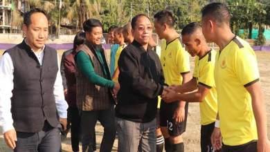 Photo of Arunachal:PTC FC lift up the 6th Veteran cup football tournament