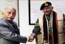 Itanagar: GOC 5 Mtn Div calls on the Governor