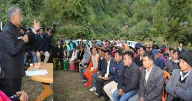 Arunachal Governor visits Darak Circle