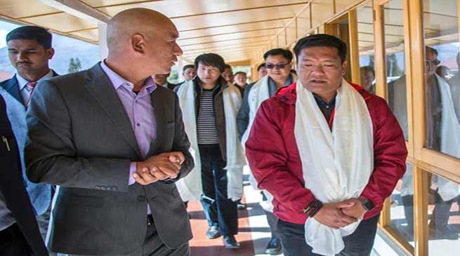 Arunachal: Khandu visits Jhamtse Gatsal Children's Community