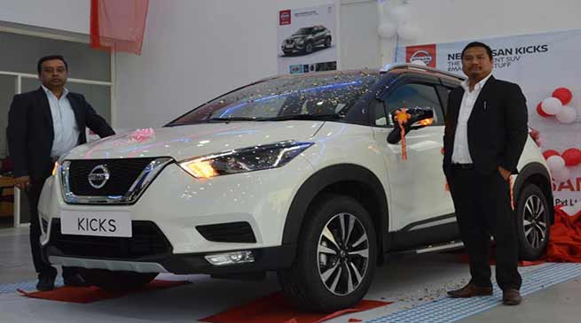 Itanagar : Nissan launches the new KICKS