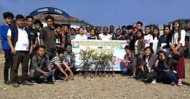 Arunachal:NPP volunteers organised cleanliness cum plantation drive