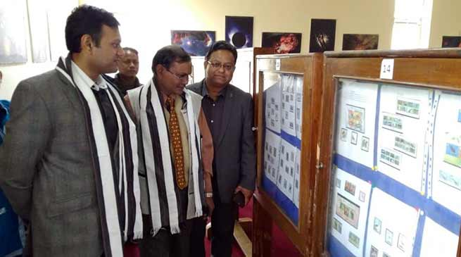 PHILATELY EXHIBITION HELD Itanagar, January 29: Director Postal Services, Arunachal Pradesh Division, organized a Philately Exhibition at Science Centre Itanagar today. Speaking on the occasion as Chief Guest the Deputy Commissioner Capital Complex Prince Dhawan said that India post is the only department which can reach the most interior and remote places and provide services to the people. He stressed that in this technologically advanced world, Postal Department has not lost its importance and still providing its best services to the people. He also stressed that one of the most important components of an election is Postal ballot and it is the responsibility of the postal department to transport these ballot papers timely during elections. He also lauded the Department for organising the event and hoped that people from all walks of life would be benefited with the knowledge as stamps collected from all over the world through ages were displayed during the programme. Senior Journalist and Philatelist, Pradip Kumar Behra also attended the ocassion as the Guest of Honour . Students from various schools in the capital complex participated in the day long exhibition. A seminar on Philately and quiz competition was also held among the students on the occasion. Philately is the study of stamps and postal history and other related items. It also refers to the collection, appreciation and research activities on stamps and other philatelic products. Philately involves more than just stamp collecting, which does not necessarily involve the study of stamps.
