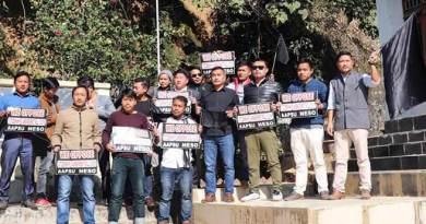 Itanagar: AAPSU condemn police firing on NESO activist in Tripura