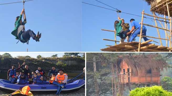 """Arunachal DGP appreciates """"Being Arunachalee"""" team for organising Eco camp"""