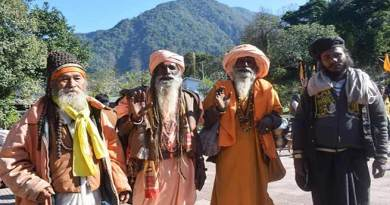 Arunachal:Over 8000 Devotees take holy dip in Parsuram Kund on Makar Sankranti