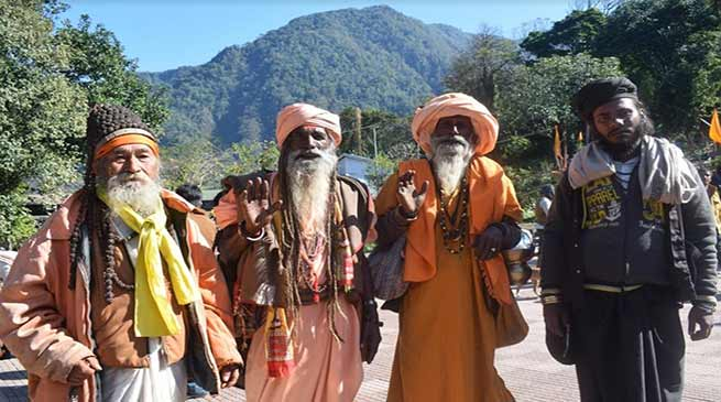 Arunachal: Over 8000 Devotees take holy dip in Parsuram Kund on Makar Sankranti