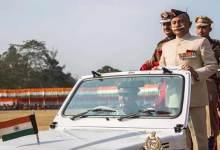 Itanagar: Arunachal Governor unfurls the Tricolour on 70th Republic day