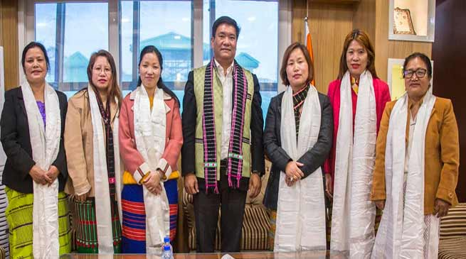 Itanagar: APSCW members calls on CM