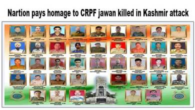 Photo of Nation pays homage to Slain CRPF personnel killed in Kashmir attack