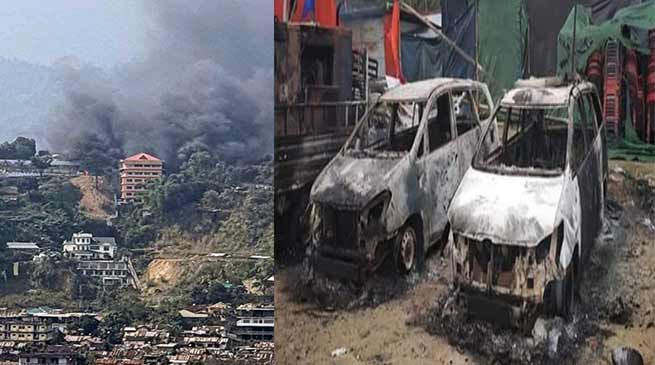 PRC issue: Protesters burnt Arunachal's Dy CM's house, curfew imposed