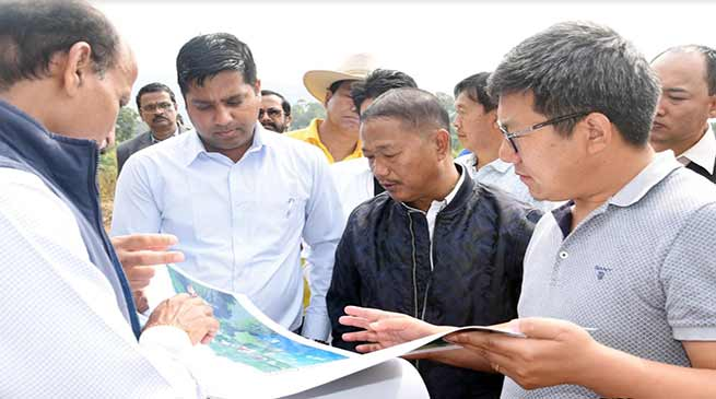 Arunachal:  Felix, Rebia visits Film and TV Institute