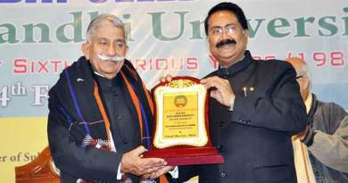 Arunachal Governor attends the 36th Foundation Day celebration of RGU