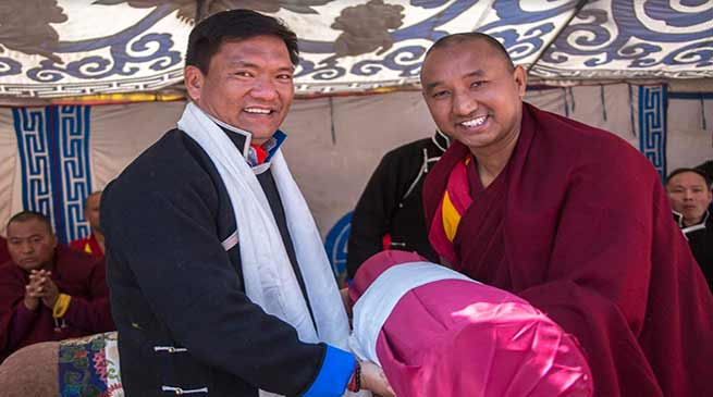 Arunachal CM attends enthronement ceremony of new Abbot of Tawang Monastery