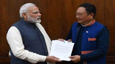 Photo of Arunachal : Ninong Ering meet PM Modi regarding CAB and Siang River
