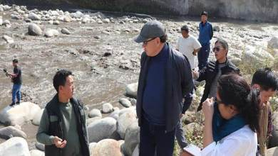 Photo of Arunachal: Rebia inspects Silting problem of Ranganadi in downstream