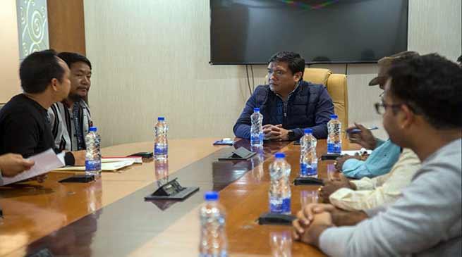 Arunachal: ACCI extends support to CM Khandu for bringing normalcy in Itanagar