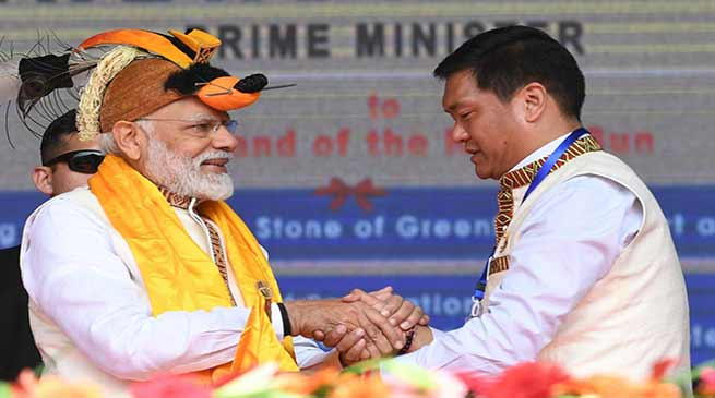 Arunachal:PM Modi's Itanagar visit- LIVE UPDATE