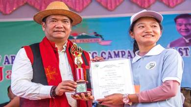 Photo of Arunachal CM felicitates Asha, Anganwadi workers at Kiyit Village