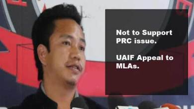 Photo of Itanagar: UAIF appeal MLAs, not to support PRC
