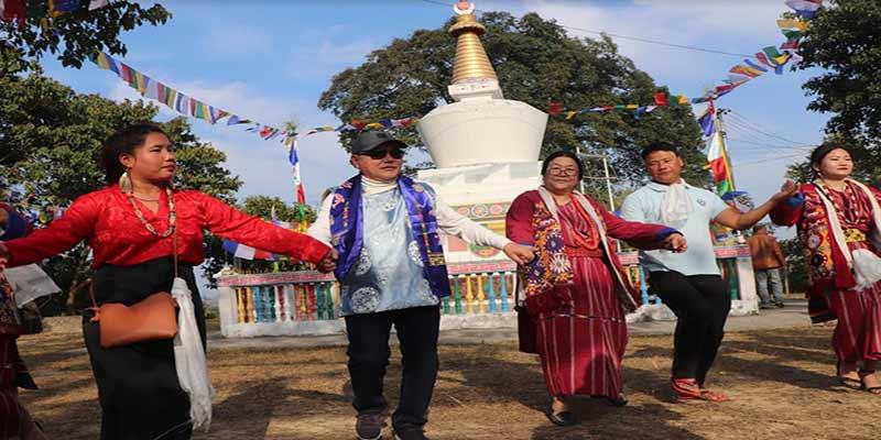 Arunachal:Rebia takes part in Losar festival