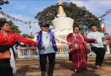 Photo of Arunachal: Rebia takes part in Losar festival