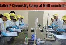 Itanagar: Salters' Chemistry Camp at RGU concludes
