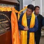 Arunachal: Khandu inaugurates50 kw solar power Plant in Tawang