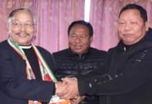Photo of Itanagar: Former Home Minister James L Wanglat joins congress